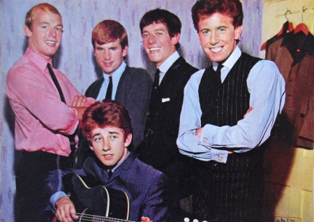 the hollies - males, total, five, singers