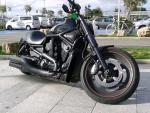 Black Harley Davidson