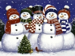 Caroling Snowmen  F2mp