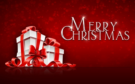 Merry Christmas - merry christmas, holiday, letters, celebration, wishes, gifts