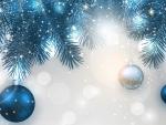 Blue Christmas Shine