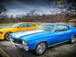 2012 Charger Super Bee & 1972 Chevelle SS
