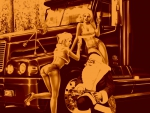 Santa Claus Turned Trucker