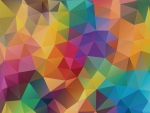 color geometrics - rainbow