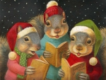 Caroling Squirrels