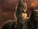 'Spirit wolves'.....