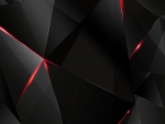 color geometrics - black and red encounter