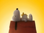 Naptime for Snoopy and Woodstock