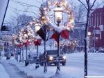 A street view_ Holiday Season