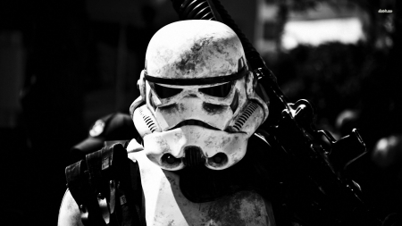 storm trooper in star wars - wars, storm, trooper, star