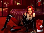 Christmas Holidays Rayne - In A Red Bedroom