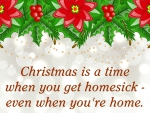 Christmas is home