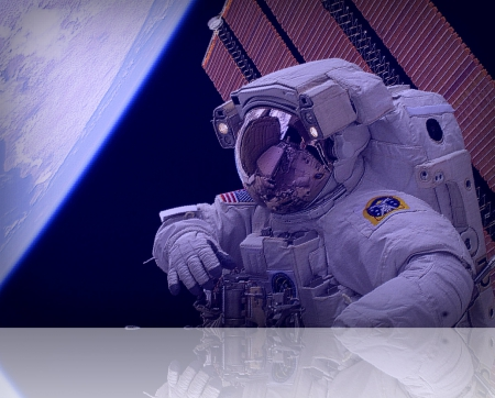 walk in space - mission, earth, photograph, nasa original 1005