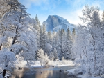 Winter in Yosemite National Park