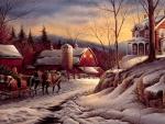 Winter by Terry Redlin