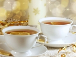 Christmas Lemon Tea