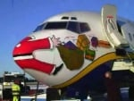 Santa Got Ran Over By An Airplane