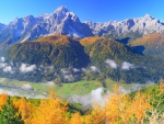 Autumn Mountains Panorama