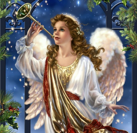Christmas Angel.Christmas Angel Other Abstract Background Wallpapers On