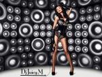 Hot female DJ