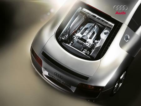 Audi R Engine Audi Cars Background Wallpapers On Desktop Nexus - Audi r8 engine