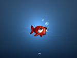 Sad Animated Fish