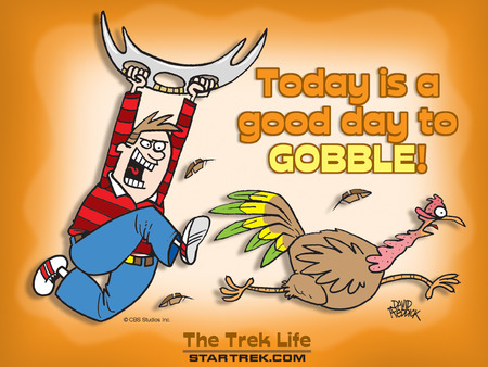 A Good Day to Gobble - thanksgiving, dinner, turky