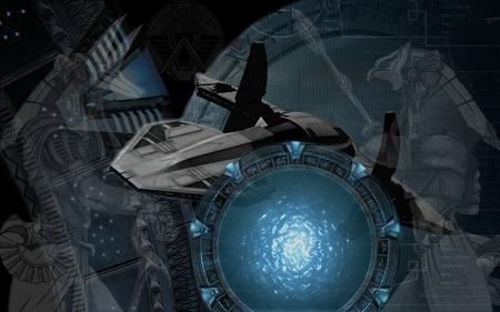 Stargate SG1 - spaceship, goa uld, aliens, sg1, asgard, anubis, goauld, horus, stargate sg1, stargate