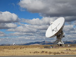 Very Large Array (VLA) Radio Telescope in New Mexico