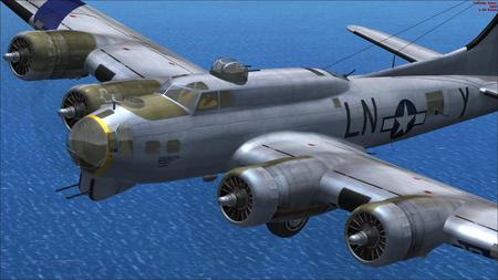 B-17 FSX - Military & Aircraft Background Wallpapers on