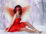 ~Winter Red Angel~