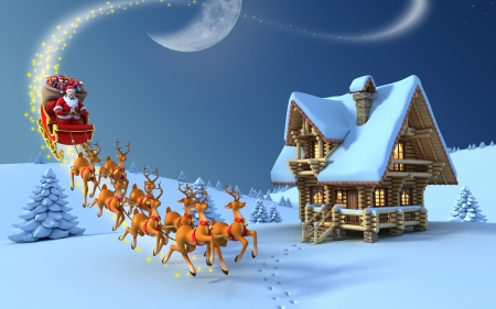 Santa Claus is coming to town - 21, 2014, 12, santa claus, picture