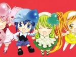 Ran, Miki, Su & Dia