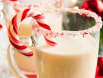 Candy Cane Milk Drink