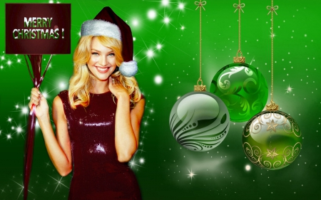 Merry Christmas from Candice - holidays, christmas, swanepoel, candice, xmas, greetings