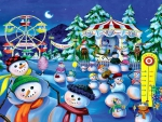 Snowman Carnival F