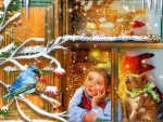 ~Christmas at the Window~