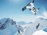 Beautiful Snowboarding