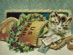 Christmas Cat F