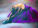 Ballerina in Purple