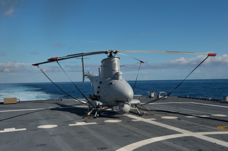 MQ-8B unmanned aircraft - drone, Army, War, helicopter, Ocean, US Navy, unmanned aircraft