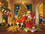 Santa's caught