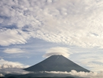 Mount Fuji in the Clouds