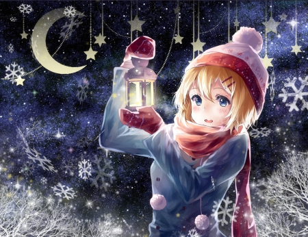 Christmas Lantern - Other & Anime Background Wallpapers on Desktop ...
