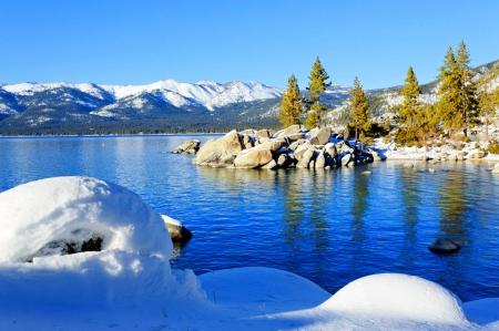 Lake Tahoe Lakes Nature Background Wallpapers On Desktop