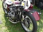 Triumph Racing Motorcycle & Sidecar