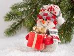 * Happy Snowman *