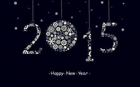 Happy new year to all ♥ - firework, stars, wish, new, new year, year, happy