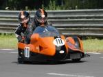 Racing Motorcycle & Sidecar