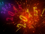 Colorful Exploding New Year!
